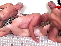 Gangbanged by old dudes