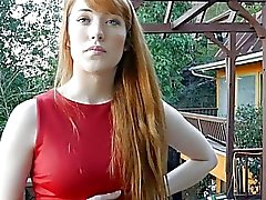 Young redhead realtor offers sexual favors to possible buyer