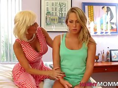 Teen scissors stepmother