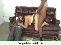 Cougar With Huge Tits Fucked By a Young Black Teen 28