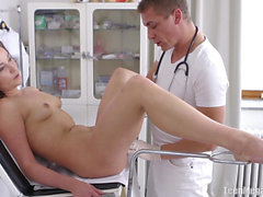 Young girl fingered by her gynecologist