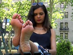 Solo Sexy Foot Fetish