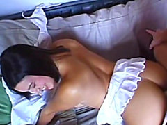 Stepmom teaches me how to properly masturbate and fuck