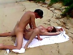 Teens Fuck On Secluded Beach