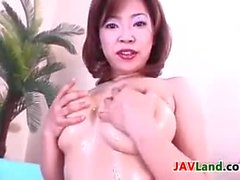 Japanese MILF Is A Big Tease