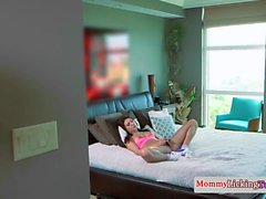 Stepmom orally pleasured in sixtynine pose
