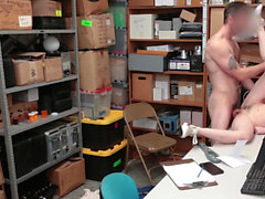 ShopLyfter - Cute Blonde Teen Fucked By The Security Officer